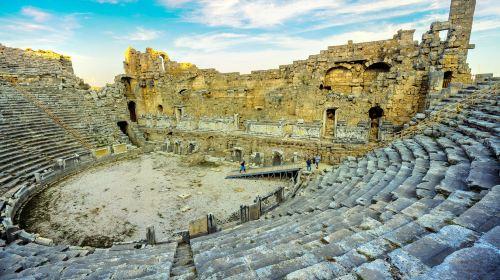 阿斯潘多斯古劇場