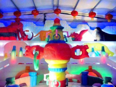 Harbin International Ice Sculpture Exhibition (Cangzhou Station)