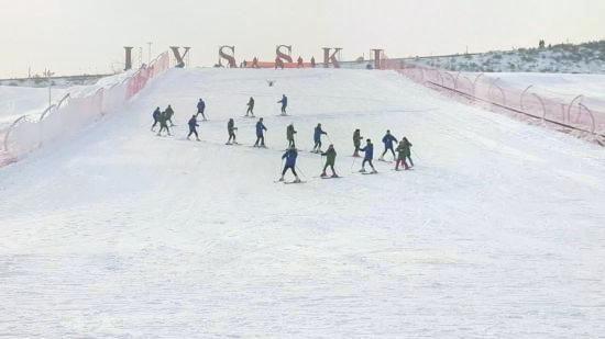 Langya Mountain Snow Zone