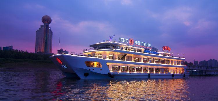 Wuhan Liangjiang Tour (Night Tour Yangtze River)