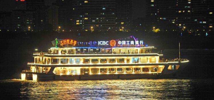 Wuhan Liangjiang Tour (Night Tour Yangtze River)1