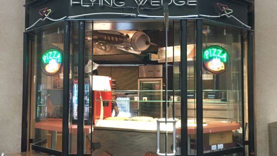 Flying Wedge @ Library Square
