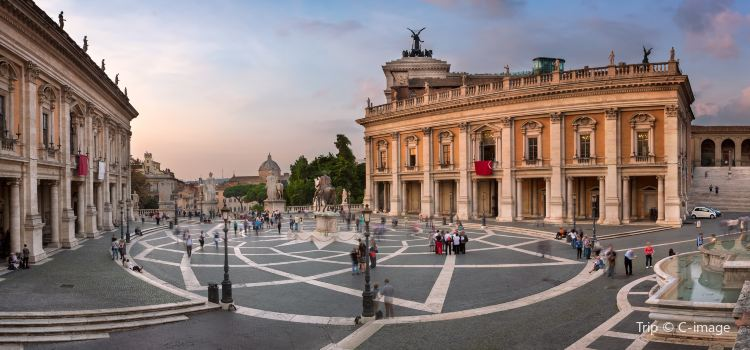 Piazza Del Campidoglio Travel Guidebook Must Visit