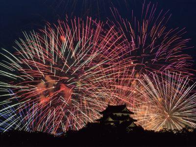 Hikone & Kita-Biwako Great Firework Festival