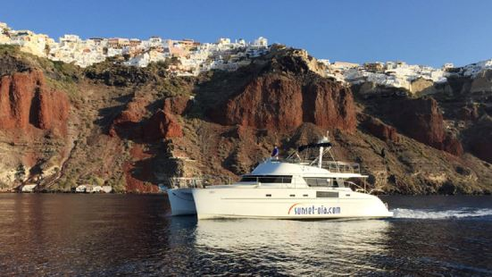 Ios Yacht Tour Of Santorini