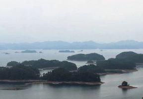 煙雨朦朧的千島湖,小記兩天一夜逃離城市的散心之遊