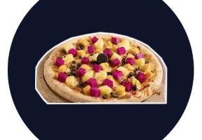 29.9元搶購原價69元比薩娜拉10寸比薩,榴蓮烤腸,美式烤雞水果、炭烤、奧利奧比薩四選一
