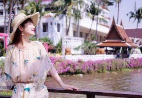 打卡湄南河畔最美花園酒店   原來曼谷也能玩出海島的趕腳