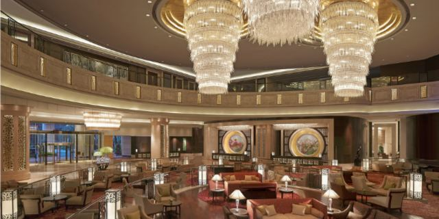 Shenzhen Futian Shangri-La Hotel Lobby Lounge1