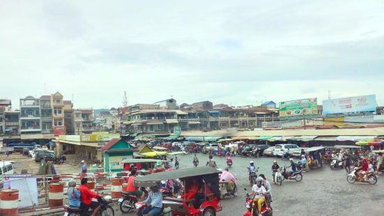 桔井湄公河沿岸村莊
