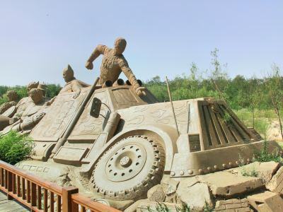 Sand Sculpture Ocean Park