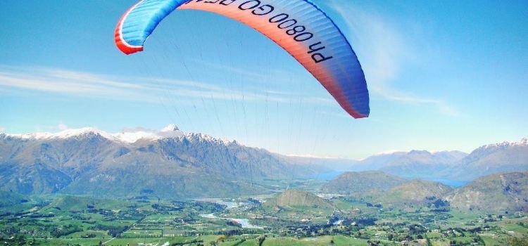 卡羅內特峰滑翔傘