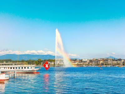 The Geneva Water Fountain