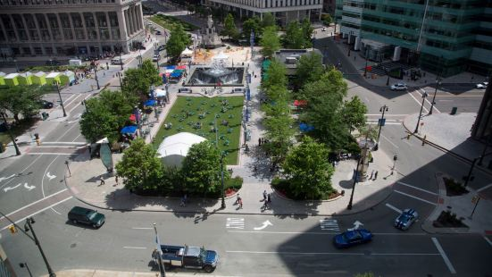 Campus Martius Ice Skating