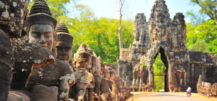 South Gate - Angkor Thom1