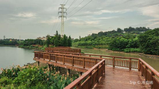 Huadu (Flower City) Lake Park