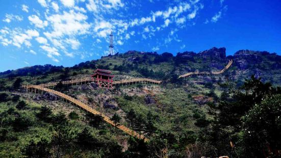 Jiuxian Mountain Scenic Area