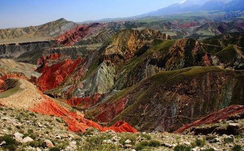 烏蘇泥火山景區