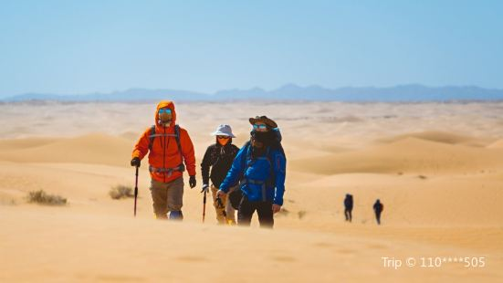 騰格里沙漠營地