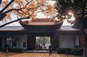 南京,2019第一張旅行照