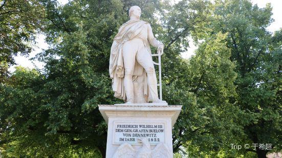 Standbild General Friedrich Wilhelm von Bülow