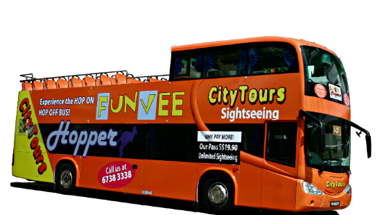 FunVee Open Top Bus