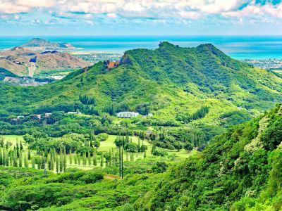 努烏阿努山谷熱帶雨林