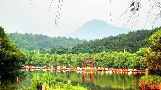 난징 장쥔산 관광풍경구