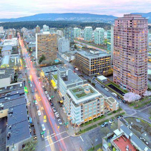 溫哥華市中心