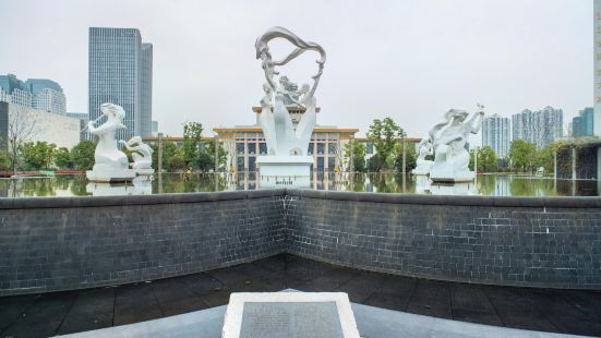 Wulin Square Music Fountain