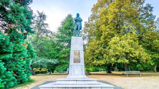 Robert Burns Monument in Stanley Park