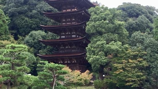 Ruriko Temple Five-Story Pagoda