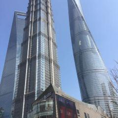 진마오 타워 88층 전망대 여행 사진