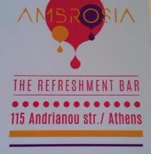 Ambrosia - The Refreshment Bar
