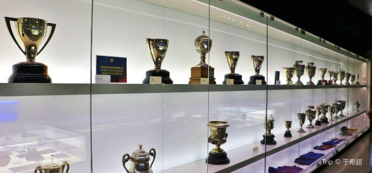 巴塞羅那足球俱樂部博物館3
