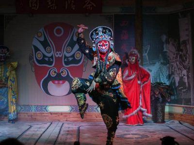 Gawan Liyuan Tea House (Chuan Opera Changing Face Theater)