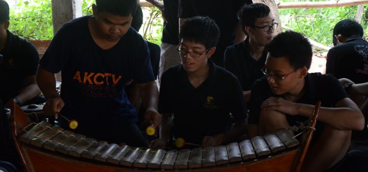 Treang Village傳統樂器學習體驗2