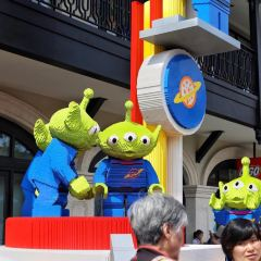 디즈니타운 여행 사진