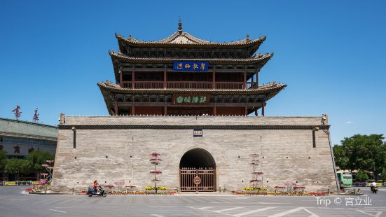 Zhangye Zhenyuan Tower