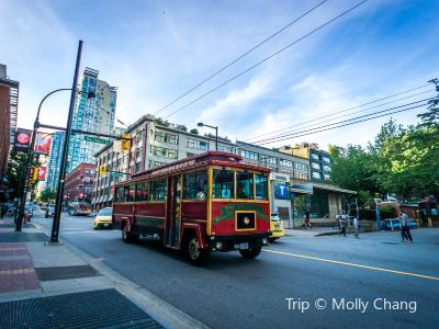溫哥華市區有軌電車