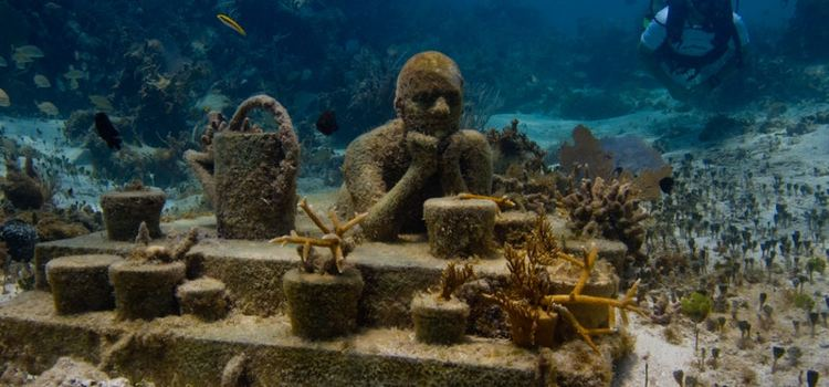 Cancun Underwater Museum3