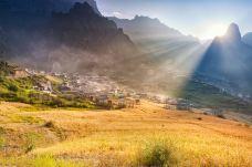 大峪沟风景区-甘南
