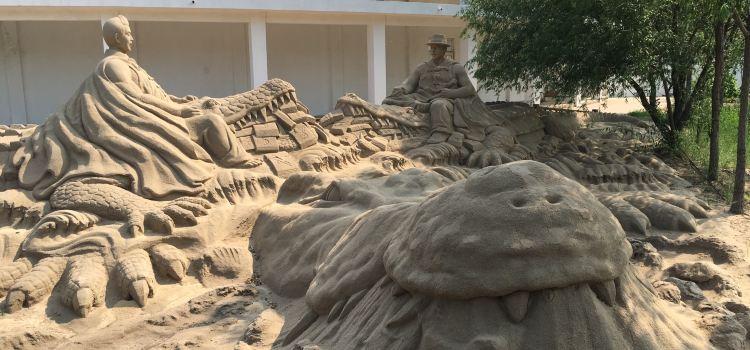 Sand Sculpture Ocean Park1