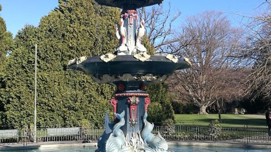 Peacock Fountain