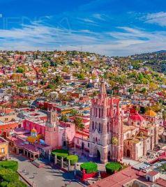 墨西哥游记图文-宁静的绚烂--圣米格尔(被疫情撞了腰的墨西哥行程04)