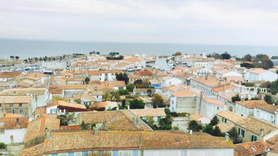 Vue panoramique depuis le clocher de l'eglise