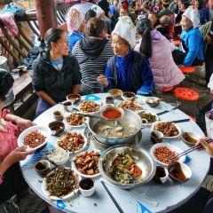 시장 첸후 쭈먀오쭈 여행 사진