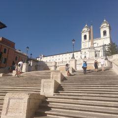 로마 스페인 광장 여행 사진