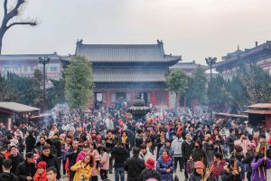 Xi'an,springholiday