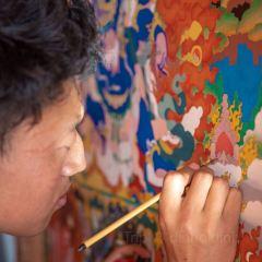 모니바오 탕카 전람센터 여행 사진